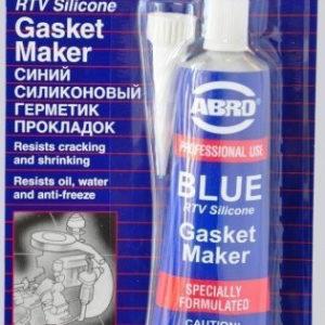 Герметик прокладок силиконовый ABRO синий
